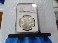 1883-O LUSTROUS SILVER  NGC MINT STATE 62   UNCIRCULATED WHITE LUSTER O08