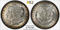 AVC- 1889-S MORGAN DOLLAR PCGS MINT STATE 63 - LY TONED