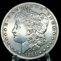 1884-O MORGAN SILVER DOLLAR - COIN 242