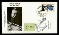 DR WHO 1975 APOLLO SOYUZ TEST PROJECT SPACE NASA LOCAL POST