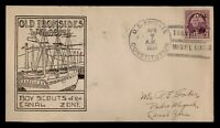 DR WHO 1934 US FRIGATE CONSTITUTION SHIP MIGUEL LOCKS CANAL