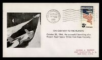 DR WHO 1964 CAPE CANAVERAL FL PROJECT ASSET SPACE GLIDER SAR