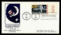 DR WHO 1969 FDC SPACE MOON LANDING C76 CACHET  F14254