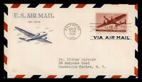 DR WHO 1941 FDC 15C AIRMAIL CACHET  F47044
