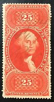 SCOTT R100C $25 MORTGAGE MS CANCEL FIRST ISSUE US REVENUE 18