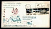 DR WHO 1972 APOLLO 17 MOON LIFT OFF KENNEDY SPACE CENTER FL