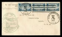DR WHO 1935 SAN FRANCISCO CA TO PHILIPPINES FIRST FLIGHT AIR