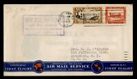 DR WHO 1940 NEW ZEALAND AUCKLAND TO USA FIRST FLIGHT AIR MAI