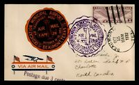 DR WHO 1932 BEAUMONT TX AIRPORT DEDICATION POSTAGE DUE C2138