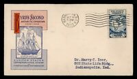 DR WHO 1933 FDC BYRD ANTARCTIC EXPEDITION II CACHET  G10286