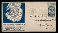 DR WHO 1934 FDC? BYRD ANTARCTIC EXPEDTION II STAMP EXPO CACH