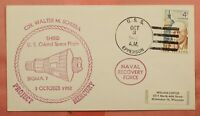 DR WHO 1962 SIGMA 7 PROJECT MERCURY REY NAVAL USS EPPERSON S