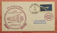 DR WHO 1962 SIGMA 7 PROJECT MERCURY REY NAVAL USS NORRIS SHI