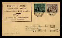 DR WHO 1931 TRINIDAD FIRST FLIGHT PAA TO CIRSTOBAL CANAL ZON