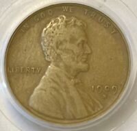 1909-S VDB LINCOLN WHEAT CENT CENT PCGS GRADED EXTRA FINE EXTRA FINE  40