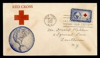 DR WHO 1952 FDC RED CROSS CACHET ASDA STAMP SHOW EXPO STA  G
