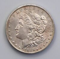 1886-O MORGAN DOLLAR, EXTREME DETAIL  IN THIS CONDITION BU CLEANED