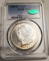 1902O MORGAN SILVER DOLLAR PCGS MINT STATE 66   CAC COIN