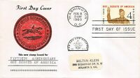 1145 4C BOY SCOUTS CACHET IN BLACK AND RED OF POST OFFICE DE