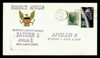 DR WHO 1968 WEBSTER TX SPACE TRACKING STA PROJECT APOLLO 6 C
