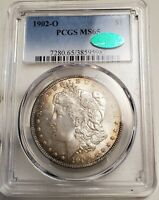 1902O MORGAN SILVER DOLLAR PCGS MINT STATE 65 [CAC]