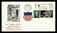 DR WHO 1968 KENNEDY SPACE CENTER FL SPACE APOLLO 7 REAL PHOT