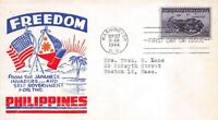 925 3C PHILIPPINES POPPENGER CACHET IN RED AND BLUE [072720.