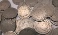 5  LIBERTY V NICKEL   CLEAN  FANTASTIC CONDITION DATES VARY