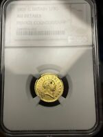 1806 1/3G GREAT BRITAIN GOLD COIN NGC GRADED AU DETAILS  PRI