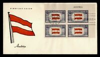 DR WHO 1943 FDC OVERRUN NATIONS AUSTRIA WWII PATRIOTIC CACHE