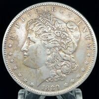 1889 P POSSIBLE VAM  MORGAN DOLLAR EXTRA FINE //AU 90 SILVER $1 US COIN COLLECTIBLE 445