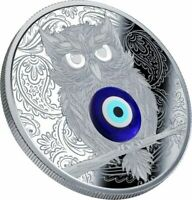 WINGED THOUGHTS PROOF SILVER COIN 1$ NIUE 2019