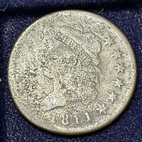 1811 LARGE CENT CLASSIC HEAD ONE CENT 1C BETTER GRADE 34704