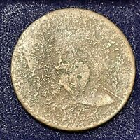 1794 LARGE CENT LIBERTY CAP FLOWING HAIR ONE CENT MANY DETAILS 34668