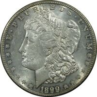 1890 S MORGAN SILVER DOLLAR MS MINT STATE GREAT LUSTER AND TONING NG-271
