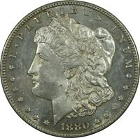 1880 S MORGAN SILVER DOLLAR MS MINT STATE PROOF LIKE PL BRIGHT COIN NG-282