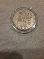 1921 - D MORGAN SILVER DOLLAR VF - SEE PICTURE 192A