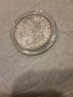 1921 - D MORGAN SILVER DOLLAR VF - SEE PICTURE 867A