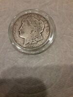 1921 - D MORGAN SILVER DOLLAR VF - SEE PICTURE 64A