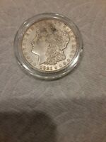 1921 MORGAN SILVER DOLLAR VF - SEE PICTURE 610A