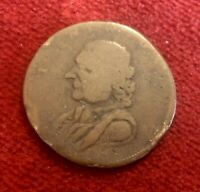 1793 ISAAC NEWTON EVASION CONDER FARTHING BY KEMPSON  D&H 1151  731