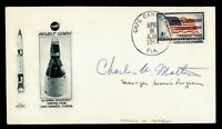 1964 CAPE CANAVERAL FL PROJECT GEMINI MANAGER MATHEWS SIGNED