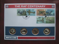 UK 2018 ROYAL AIR FORCE 4 X 2 POUND COINS 1ST DAY COVER