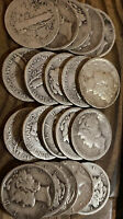 $2FACE SILVER.. 20 OLD MERCURY DIMES.. NICECOINS USA