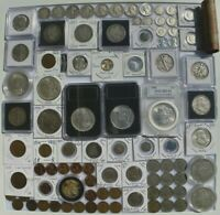 140 PIECES OF GOLD/SILVER.COLLECTOR/INVESTOR US COIN LOT.HIG