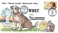 4547  44C  OWNEY VISITS YELLOWSTONE COLLINS HAND PAINTED CAC