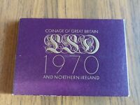 1970 COINAGE OF GREAT BRITAIN 8 COIN PRE DECIMAL PROOF SET 1
