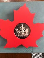 2015 $20 1 OZ SILVER COIN   THE CANADIAN MAPLE LEAF