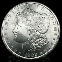 1902 O MORGAN DOLLAR FULL OF LUSTER UNC.  90 SILVER $1 US COIN COLLECTIBLE 478