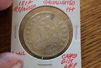 1812  REPAIRED   UNC     CAPPED BUST HALF DOLLAR